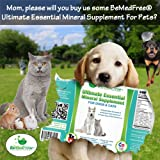 BeMedFree.com Ultimate Essential Mineral Supplement For Dogs, Cats & Other Small Pets, 8 Fl. Oz.