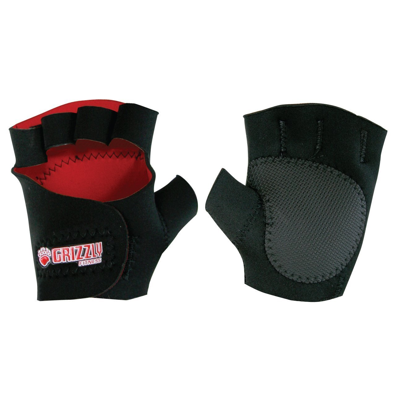 Grizzly Fitness Sticky Paw Neoprene Training Gloves GRIZ2 10-873201