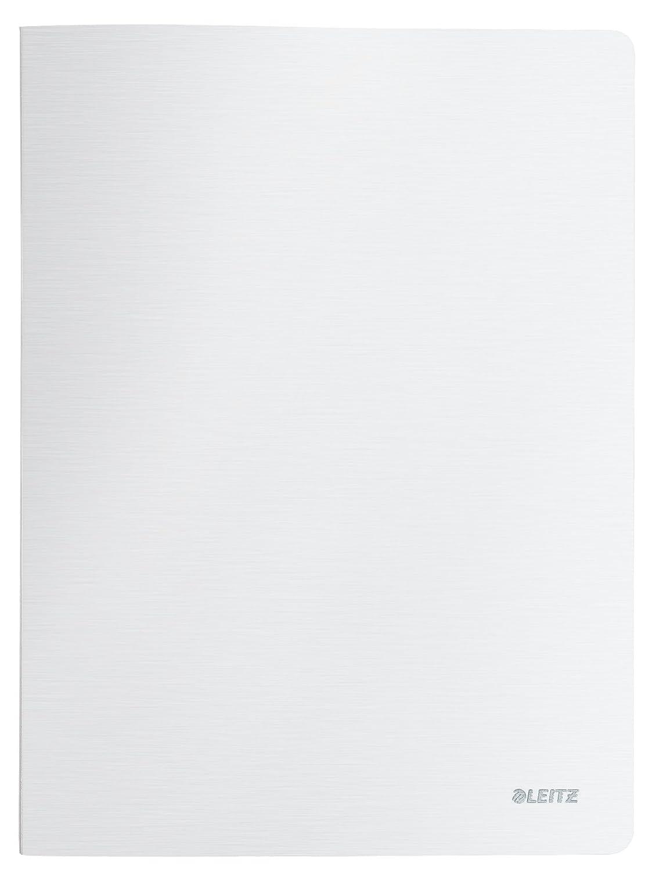 Leitz 10 x Sichtbuch Style A4 40 H/üllen satin schwarz