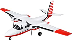 E-flite RC Airplane UMX Aero Commander BNF Basic (Transmitter, Battery and Charger not Included) with AS3X, EFLU5850