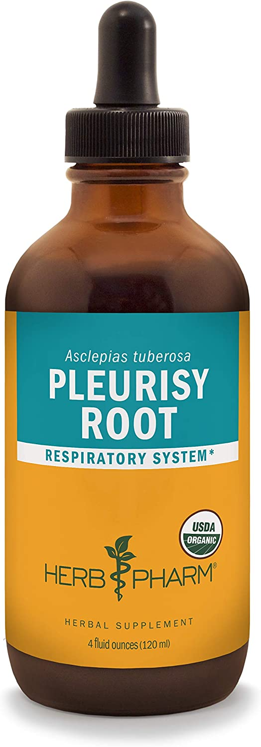 Herb Pharm Pleurisy Root Liquid Extract for Respiratory System Support – 4 Ounce
