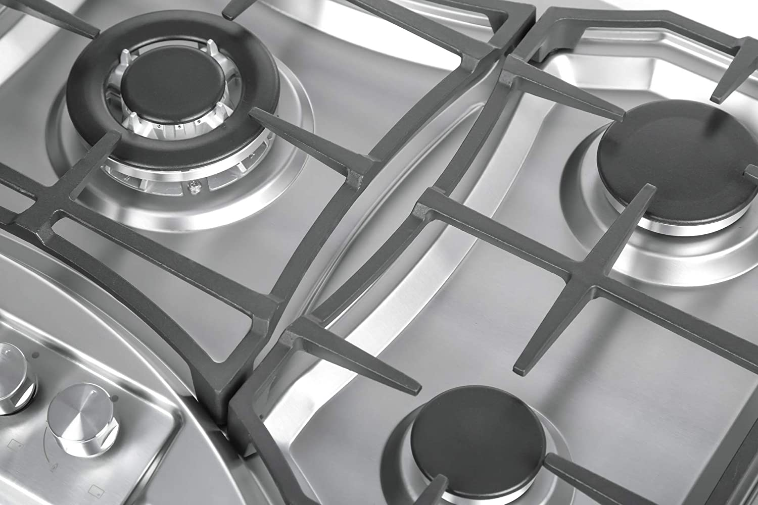 Empava 36 5 Italy Sabaf Burners Gas Stove Tops Gas Cooktop Stainless Steel LPG//NG Convertible EMPV-36GC888