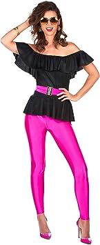 Generique - Disfraz Retro de los años 80 Mujer XL: Amazon.es ...