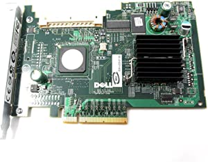 Dell UCS-51, GU186, UN939 SAS 5i SAS5/iR PCI-e Raid Poweredge