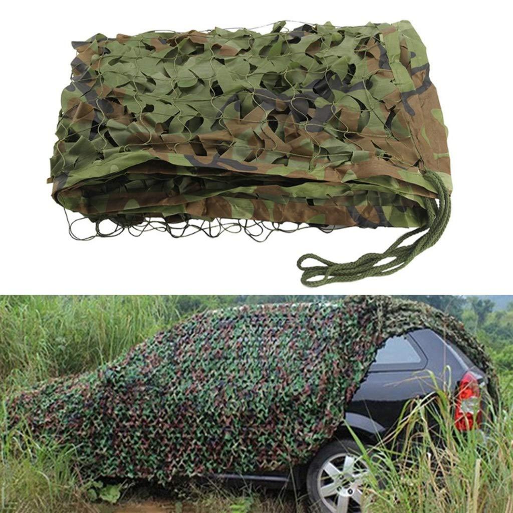 3x10m YNFNGXU Filet De Camouflage De Tissu De 2M X 3M Oxford Couverture De Camouflage Appropriée Au Camping Extérieur Masquant L'écran Solaire (Taille   3x5m)