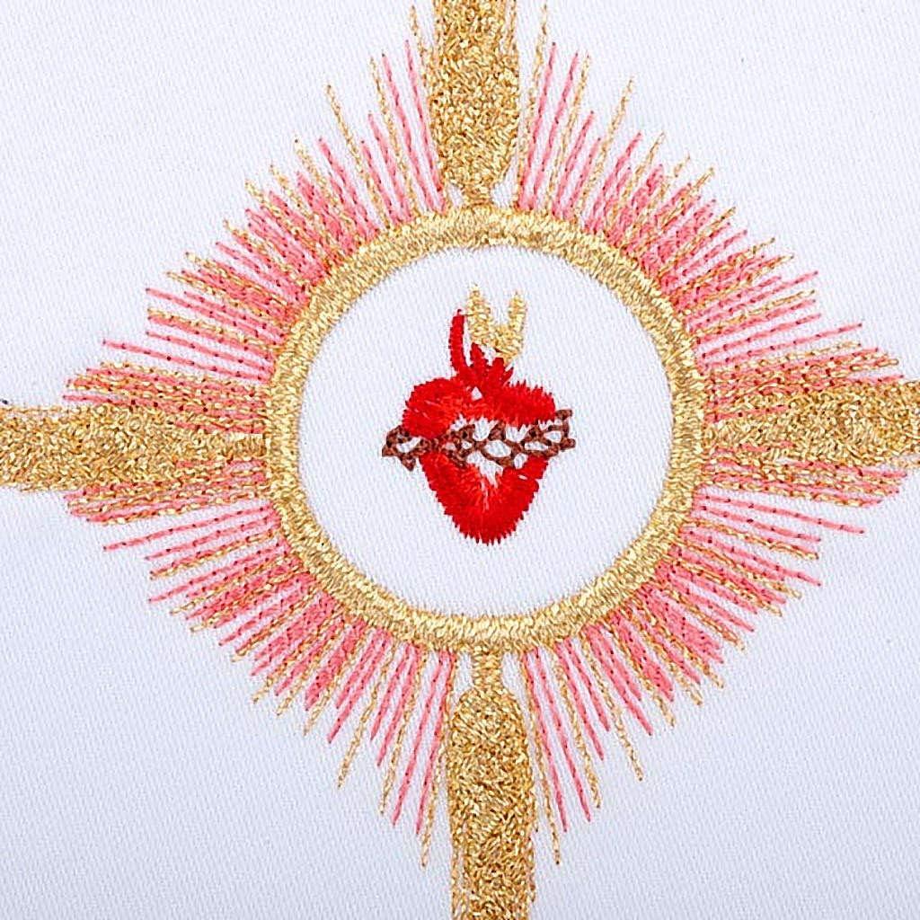 Servicio para la Misa 4 Piezas Bordado Sagrado Coraz?n de JES ...
