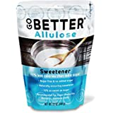 GO BETTER Allulose Sweetener | Keto, Paleo & Diabetic Friendly | Zero-Carb Granulated Low Calorie All Natural Sugar Substitut
