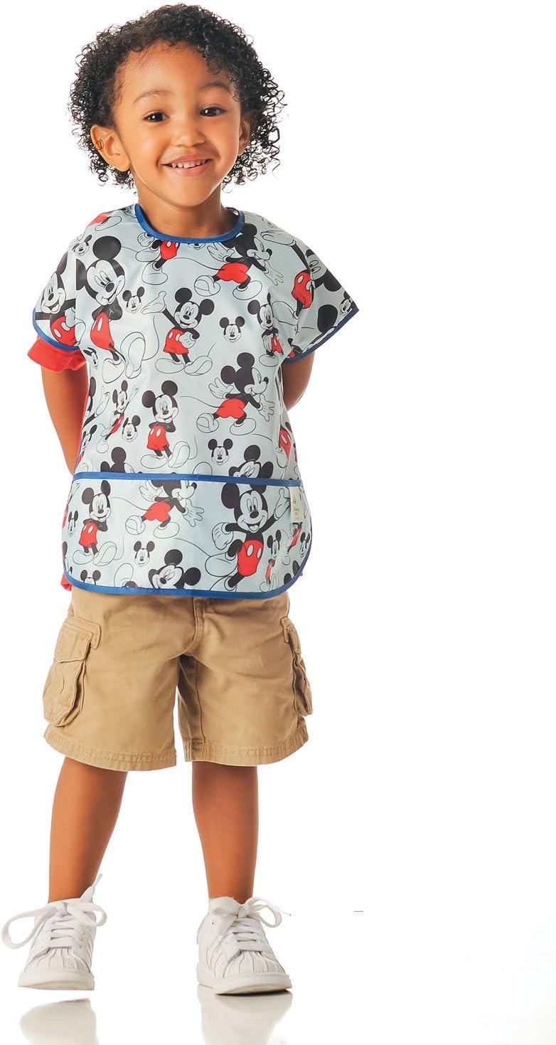 Multi-Color Bumkins Junior Bib Disney Classic Mickey