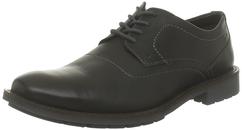 Clarks Men's Garnet Walk Shoes black Size: 6½: Amazon.co.uk: Shoes & Bags
