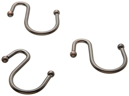 Image Unavailable Not Available For Color Carnation Home Fashions Inc Squot Type Metal Shower Curtain Hook Oil Rubbed Bronze
