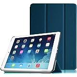【Fintie】iPad Air (2013) 専用 保護ケース 三つ折スタンドタイプ 高級PUレザー 超薄型 最軽量 オートスリープ機能付き スマートケース カバー  (ネイビー)