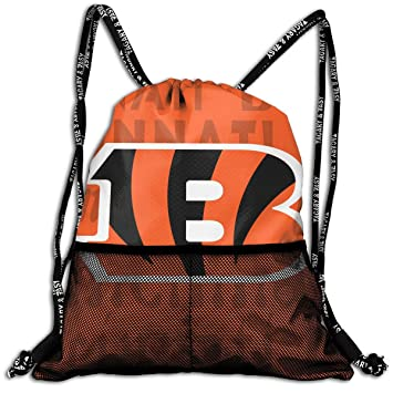 9fb8a63e Amazon.com | Aoskin Custom Cincinnati Bengals Drawstring Backpack ...
