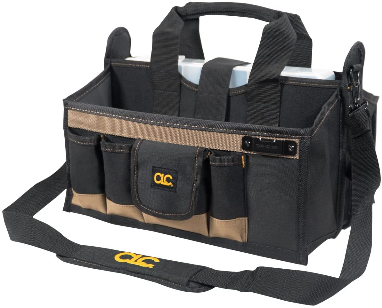 CLC Custom LeatherCraft 1529 16 In. Center Tray Tool Bag, 16 Pocket - Tool Box -