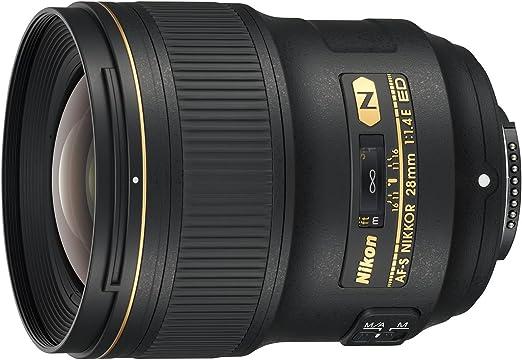 Nikon Af S Nikkor 28mm 1 1 4e Ed Objektiv Schwarz Kamera