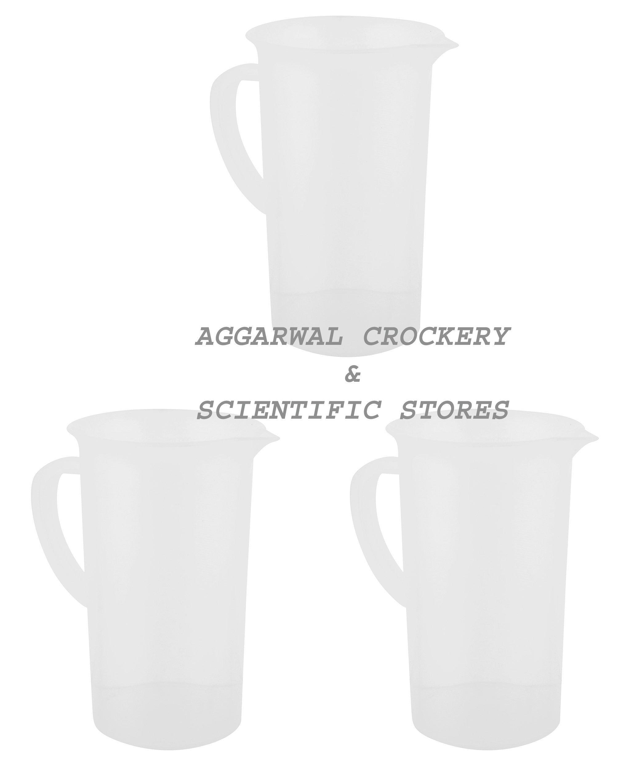 Aggarwal Crockery & Scientific Stores Measuring Jug (1000 Ml)