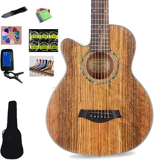 Guitarra Acústica Guitarra Clásica 6 Cuerdas De Acero Corte ...