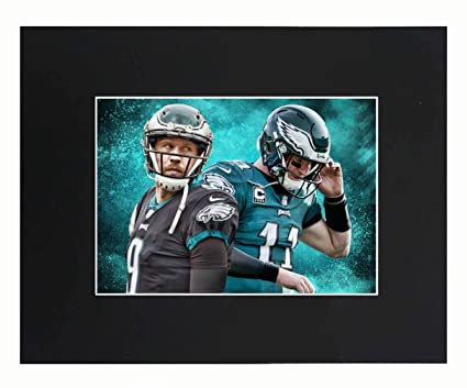 separation shoes 20dcd d2032 Philadelphia Eagles EAGLES NFL 2018 Super Bowl Champions Nick Foles Carson  Wentz Football Team Art Print Picture poster 8x10 Matted Print Printed ...