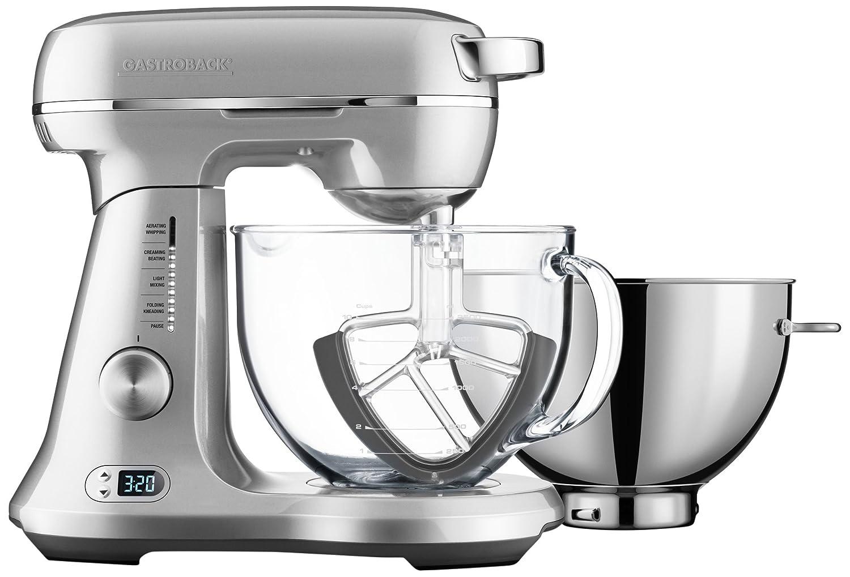 Gastroback 40989 Diseño Robot de cocina Advanced Pro Duo, 1200 W, color plateado: Amazon.es: Hogar