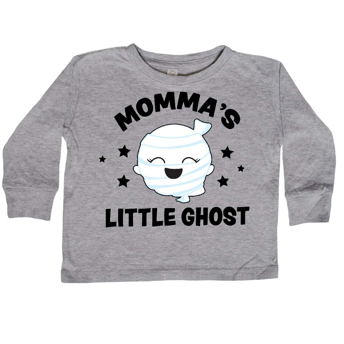 inktastic Cute Mommas Little Ghost with Stars Toddler Long Sleeve T-Shirt