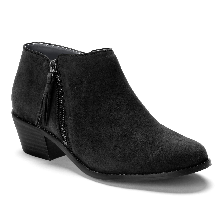 Vionic Joy Serena - Womens Zipper Boot Black - 8 Medium