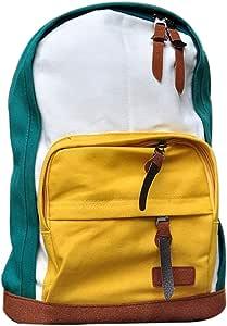 Exist Live Urban School Canvas School Multicolor Backpack