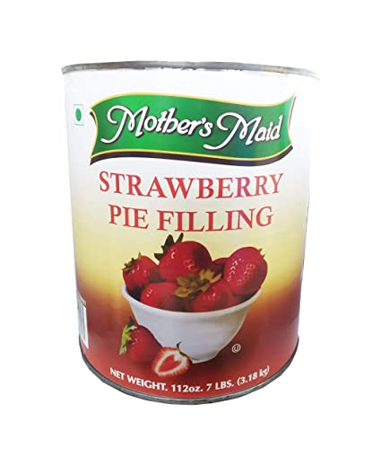 Mothers Maid Strawberry Pie Filling 3 18kg Amazon In Grocery Gourmet Foods