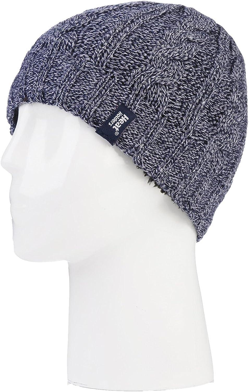 Hat, NW, Converter Set HEAT HOLDERS Damen Warme Winterm/ütze Halsw/ärmer und Handschuhe fingerlos ohne Finger Set