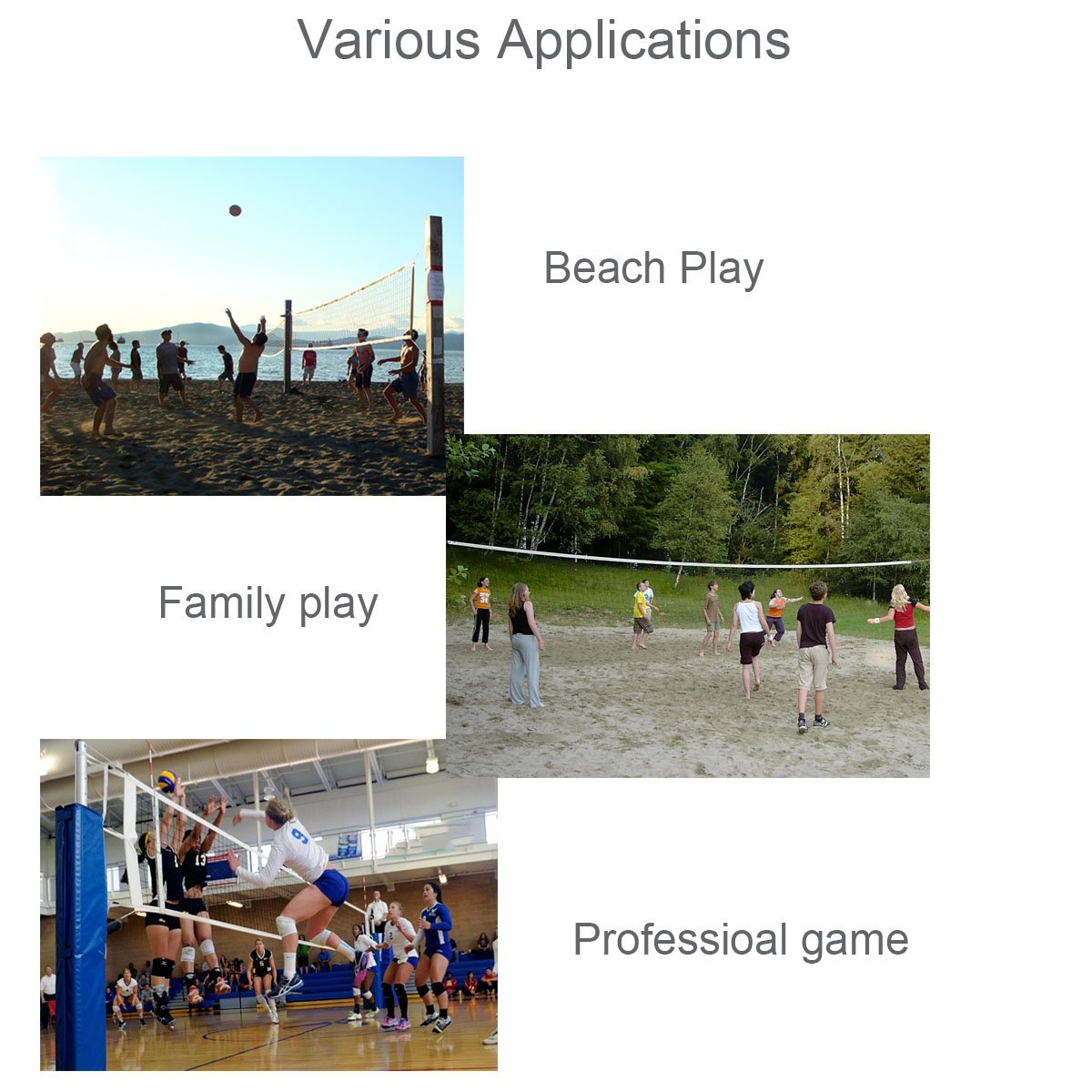 amazon com arisingdeals sports volleyball nets for swimming pool