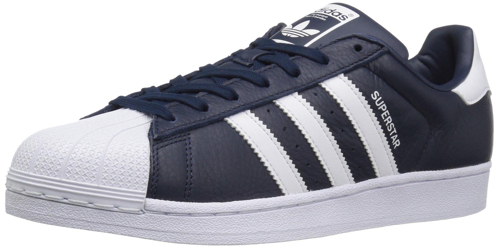 adidas Originals Men's Superstar Sneaker, WhiteCollegiate