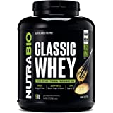 NutraBio Classic Whey Protein - 5 Pounds (Cake Batter)