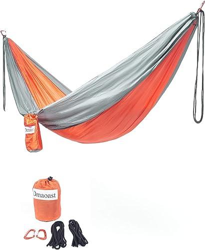 Super Lightweight Portable Hammock-Single Orange