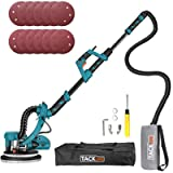 800W Drywall Sander, Double-Deck LED Lights 6 Variable Speed, 12 Sanding Discs with High Dust Suction, Extendable Handle…