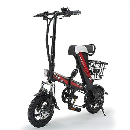 4f477df7c5e MEIYATU Electric Bike,Folding Electric Bicycle with 15-18 Miles Range, E-