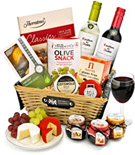 Gluten free beer and snacks hamper gift card included amazon regency hampers stratford gluten free red and white wine gift basket negle Choice Image