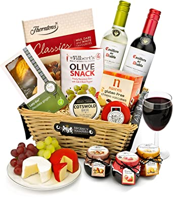 Regency hampers stratford gluten free red and white wine gift regency hampers stratford gluten free red and white wine gift basket negle Image collections