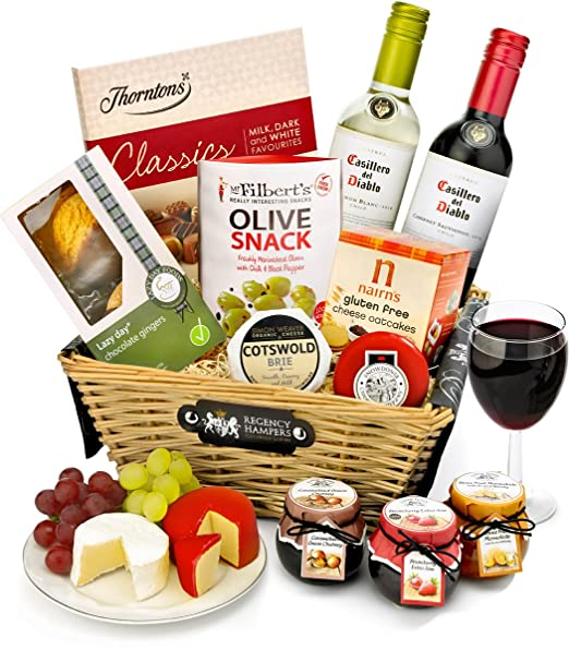 Regency hampers stratford gluten free red and white wine gift regency hampers stratford gluten free red and white wine gift basket amazon grocery negle Images