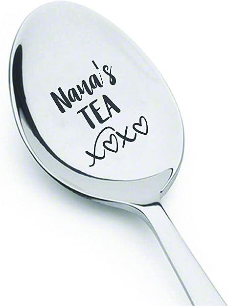 grandma gift gift under 10 friend gift teaspoon Hand stamped spoon mum gift custom spoon Mums tea spoon mothers day gift for mum