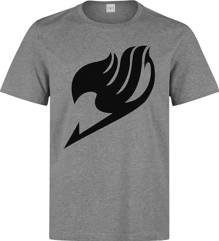 Fairy Tail Anime Manga Black Logo Men's T-Shirt
