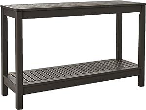 Cambridge-Casual 225350 Alfresco Console Table, Dark Grey