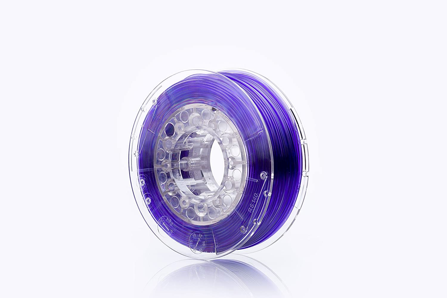 print-Me 5906190617170 Filament fü r 3D Drucker Swift PET-G 1.75 mm, Violet Glass POLIGRAF
