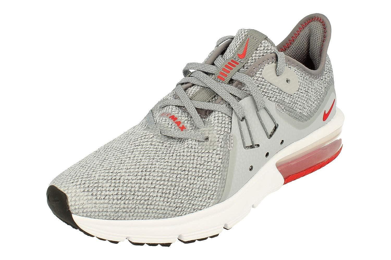 MultiCouleure (Cool gris University rouge Wolf gris blanc 003) 36.5 EU Nike Air Max Sequent 3 (GS), Chaussures d'Athlétisme garçon