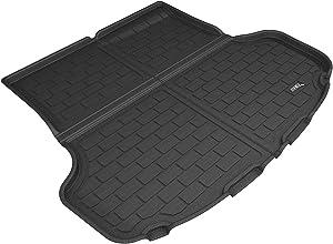 3D MAXpider - M1KA0451309 Custom Fit All-Weather Cargo Liner For Select Kia Stinger Models - Kagu Rubber (Black)