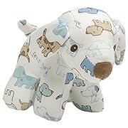 Baby GUND x Little Me Cute Puppies Stuffed Rattle Plush Toy, 5