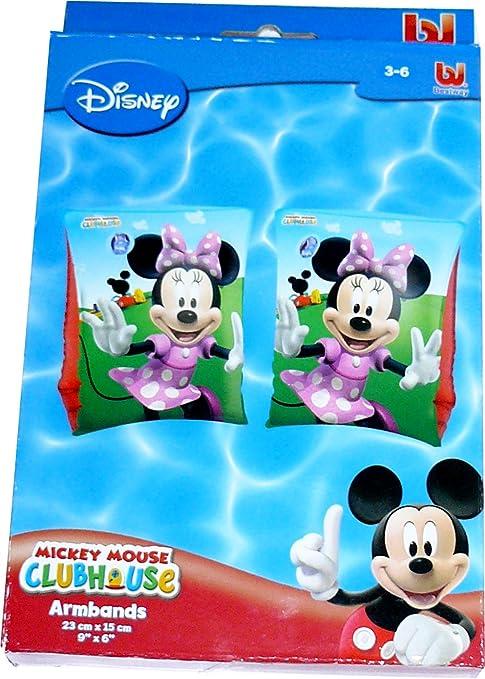Disney Minnie Mouse Natación Manguitos Brazo Flotadores Para Niños