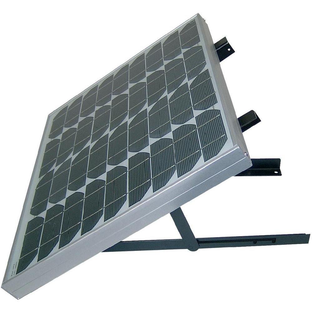 Support pour panneau solaire angle d'inclinaison réglable 0 - 45 ° Phaesun 102750