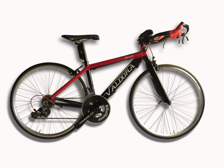Valdora Kids Sprintロード/ Triバイクフレームとフォーク B00LONJZ8K  レッド