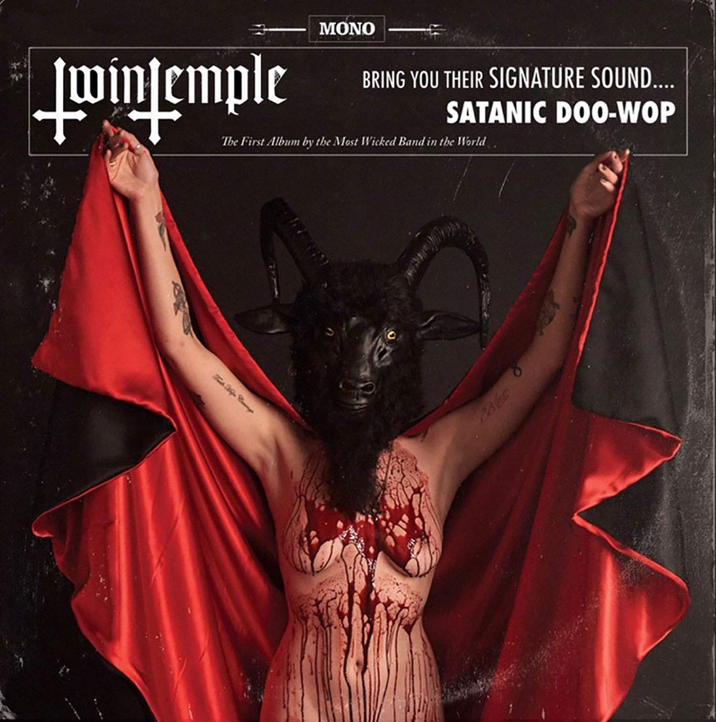 Cassette : Twin Temple - Twin Temple (bring You Their Signature Sound Satanic Doo-wop) (Cassette)