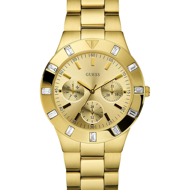 Guess W13576L1 , Reloj de lujo para mujer, color dorado Amazon.es Relojes
