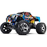 Traxxas Stampede 1/10 Scale 2WD Monster Truck with TQ 2.4GHz Radio, Rock N' Roll