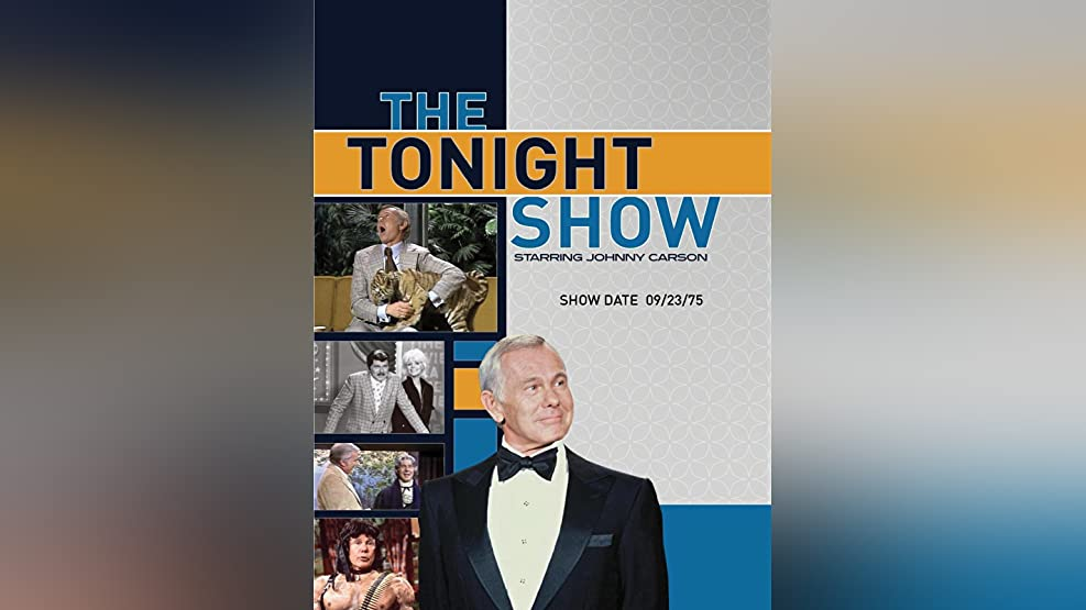 The Tonight Show starring Johnny Carson - Show Date: 09/23/75